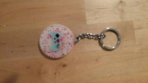 resin keychain game controller by angeladaoc