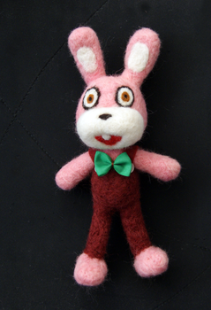 Neddle felted Robbie by vrlovecats