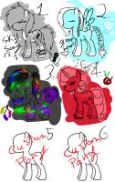 My Little Pony Adoptables NAME UR PRICE open by Jetpackkitteh54