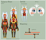 SW - Ty'lynna Reference Sheet by theRainbowOverlord