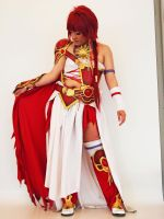 Fire Child (Magic Knight Rayearth- Hikaru Shidou) by Asiandolly