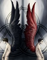 Stained Angels by surrealgreen