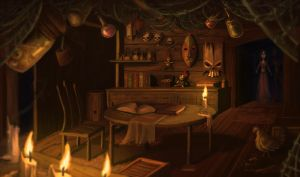 The Hoodoo Shack by Starsky-James
