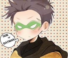 DC: Son of Batman by satansama-chan