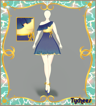 Outfit Adoptable (Auction) #28 CLOSE!!! by Tychees