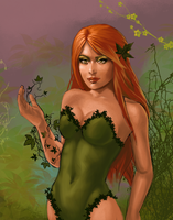 Poison Ivy WIP by JuneJenssen