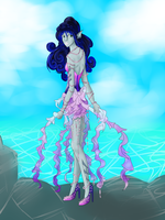 Jellyfish outfit inspired Aiyana by LifyehDragon