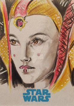 Queen Amidala by AIart