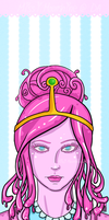 Princess Bubblegum by Missi-Moonshine