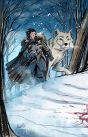 Jon Snow by SachaLefebvre