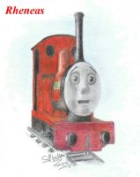 Rheneas by Skarloey-and-Rheneas