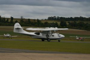 DUXFORD based PBY  takeing off by Sceptre63