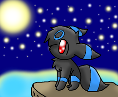 Shiny Umbreon by SkyWarriorKirby