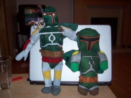Two Boba plushies by Caranth