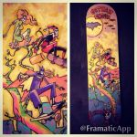 Gotham Girls skateboard deck by SpencerPlatt