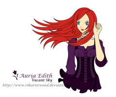OC Gift: Auria Edith by RikaRoxwood