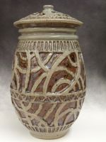 Decorative Jar by flying-biscuit-lover