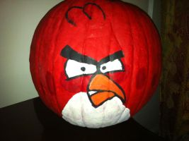 Angry Birds Pumpkin by Stencils-by-Chase