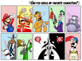 Can You Guess My Favorites? by FractiousLemon