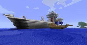 Boat and Aircraft Carrier by Sero-Cheat