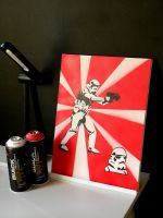 Portrait of a Stormtrooper by byCavalera
