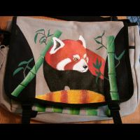 Red Panda Messenger Bag by burdock6