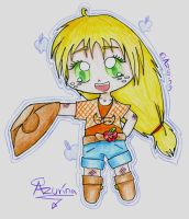 Chibi Human Appel Jack by Azurina