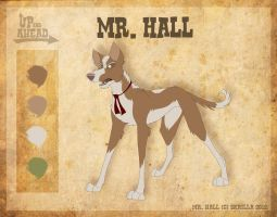Mr. Hall - Character Sheet by Skailla