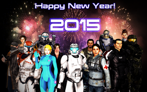 Happy New Year! (2015) by benoski