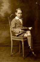 Portrait of a Young Boy 5 by Oldphotos