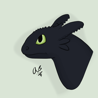 Toothless by SassyHonks