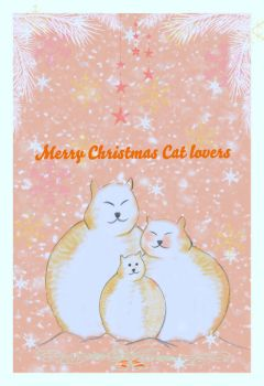 Marry Christmas Cat lovers by ajacoub