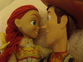 Woody talking to Jessie by spidyphan2