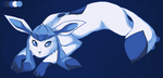 Glaceon by Leo-in-love