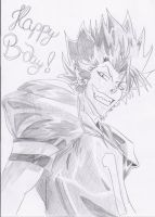 HAPPY B-DAY (Hiruma Style) by Mitsusuki