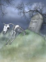 Unicorn Cemetery by Nose-Meat