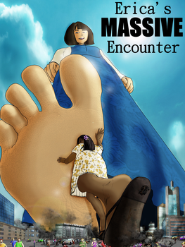 Erica's Massive Encounter (by megakorean and I) by GtsEnvironmentalist