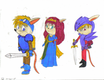 sparkster casts by TeamChelsea