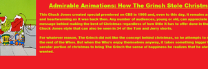 Admirable Animations How The Grinch Stole Christma by Jules2005