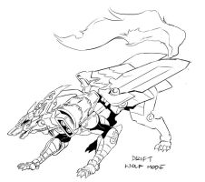 Drift Wolf Mode by neurowing