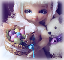 Mini Easter Basket by WaterGleam