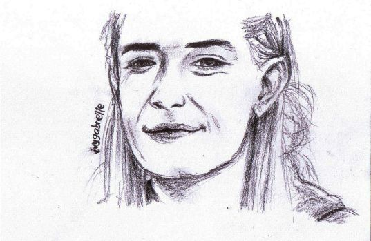 Legolas smiles by drakes999