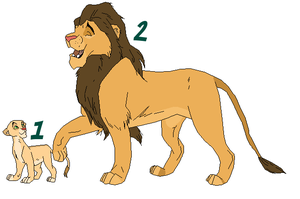 Lions Adoptables 2 - CLOSED - by Soufroma
