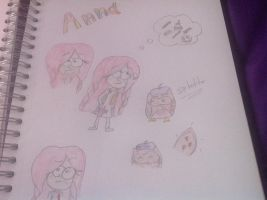 Anna-Gravity Falls OC by ShimmeringDaylight
