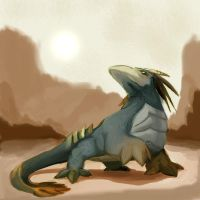 King Komodo Dragon by blitzARiTz