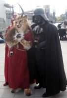 Vader and a fur?? by Coredeath