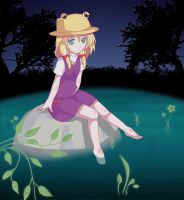 Melancholy of Suwako Moriya by overflame