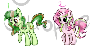 Pony Adoptables 3 80 points CLOSED by Sitrophe