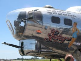 B-17G Nose Turret and Nose Art by Flightmasters