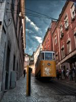 Going Up - Lisbon Portugal by Jack-Nobre